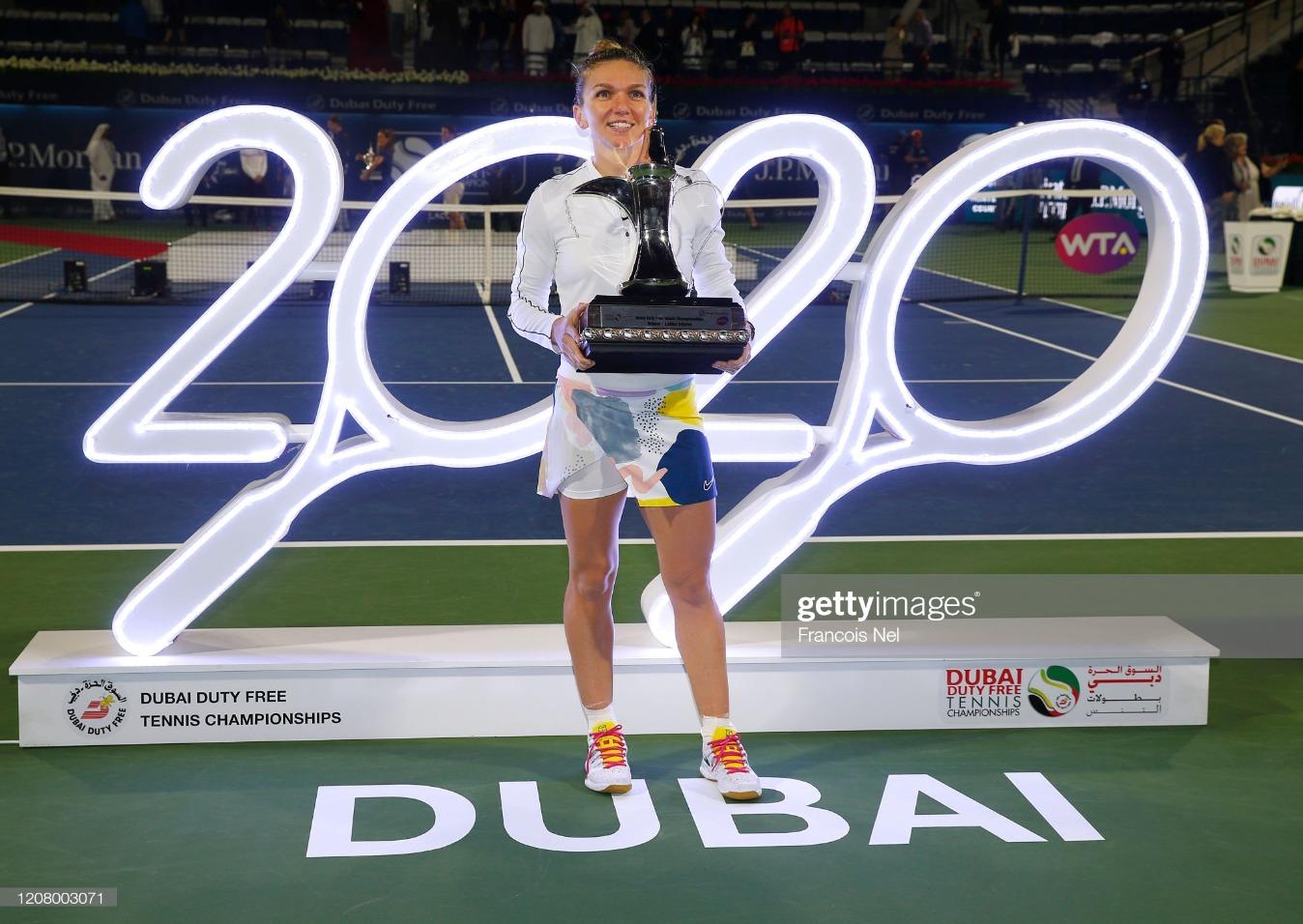 Dubai Duty Free Tennis - Day Six : News Photo