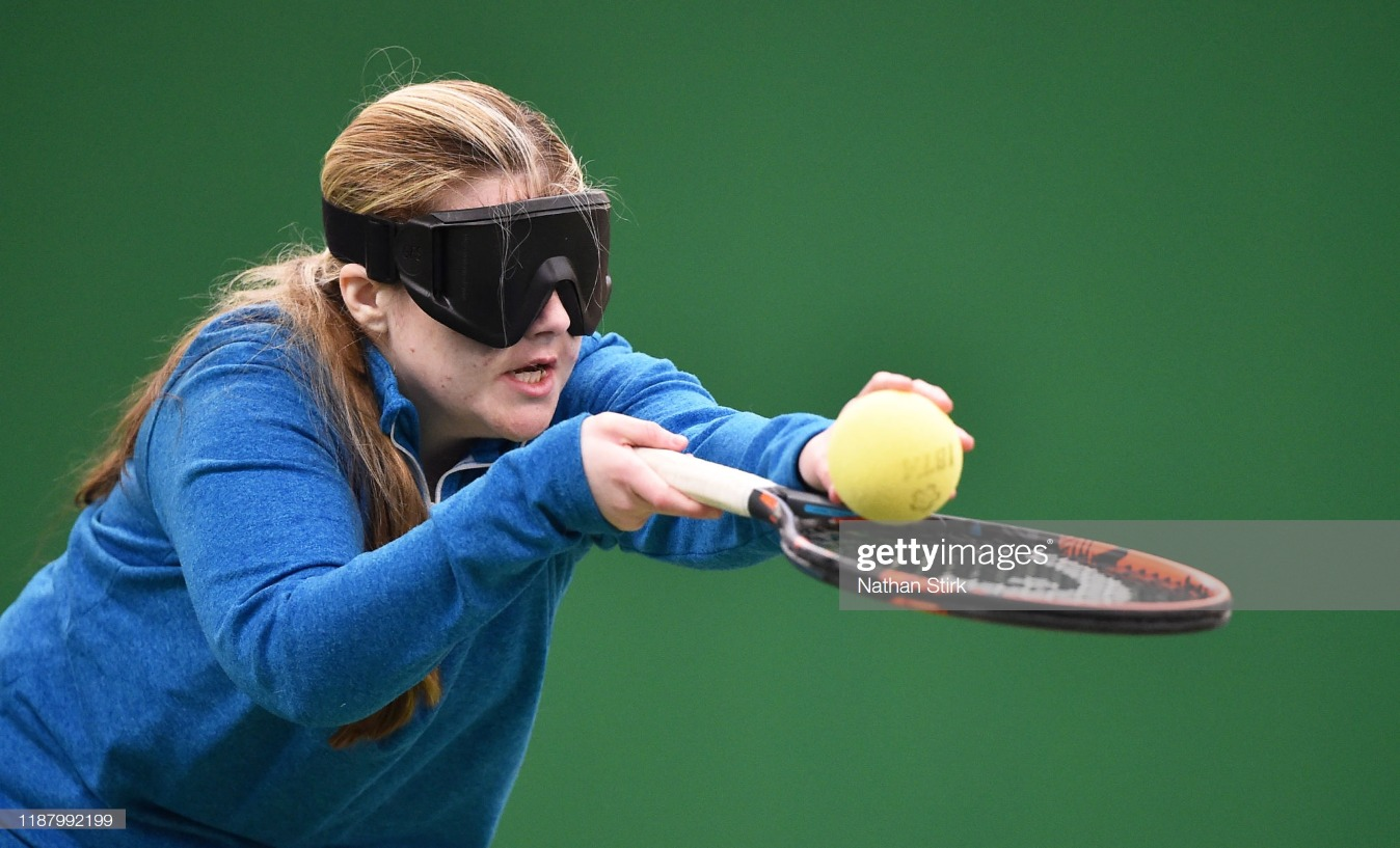 National Visually Impaired Tennis Championships : News Photo