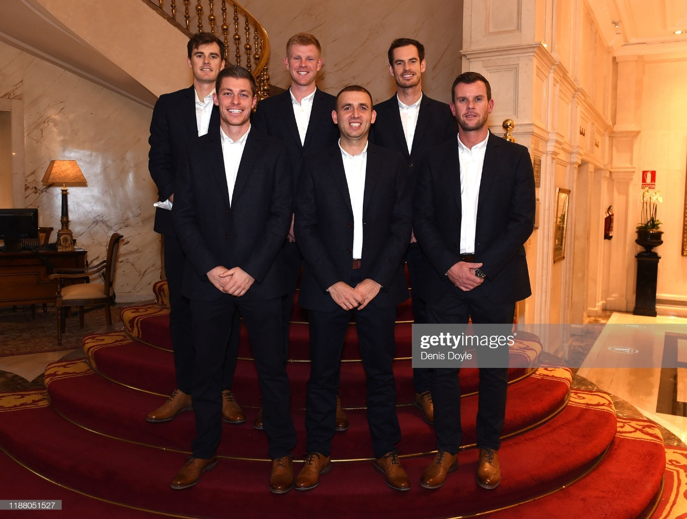 2019 Davis Cup - Previews Day Three : News Photo