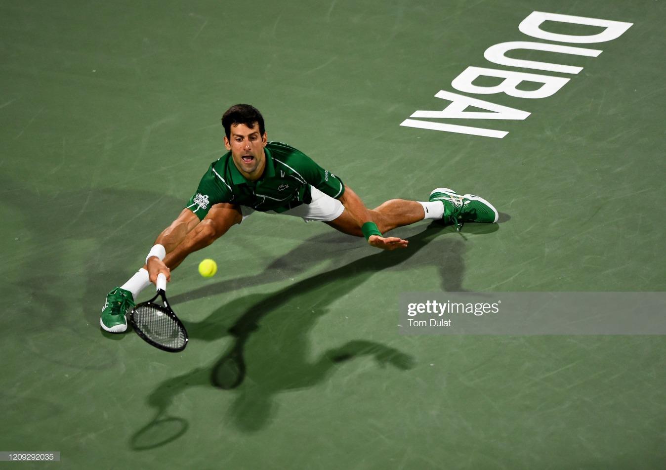 Dubai Duty Free Tennis - Day 12 : News Photo