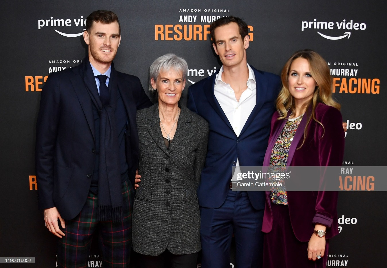 """Andy Murray: Resurfacing"" World Premiere - Red Carpet Arrivals : News Photo"