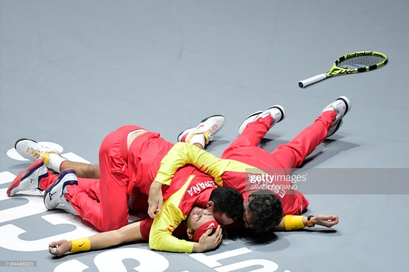 TOPSHOT-TENNIS-DAVIS-CAN-ESP : News Photo