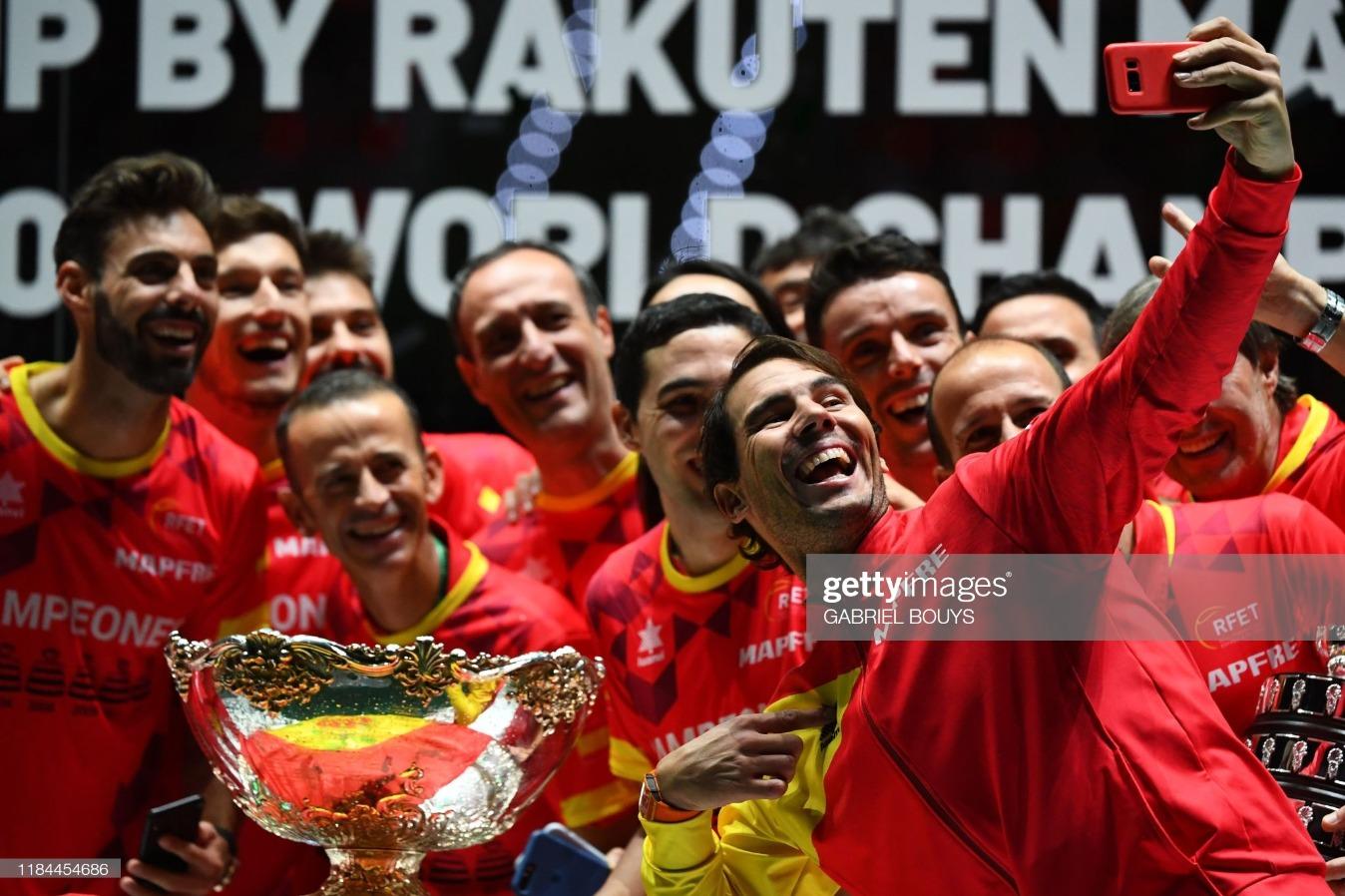 TENNIS-DAVIS-CAN-ESP : News Photo