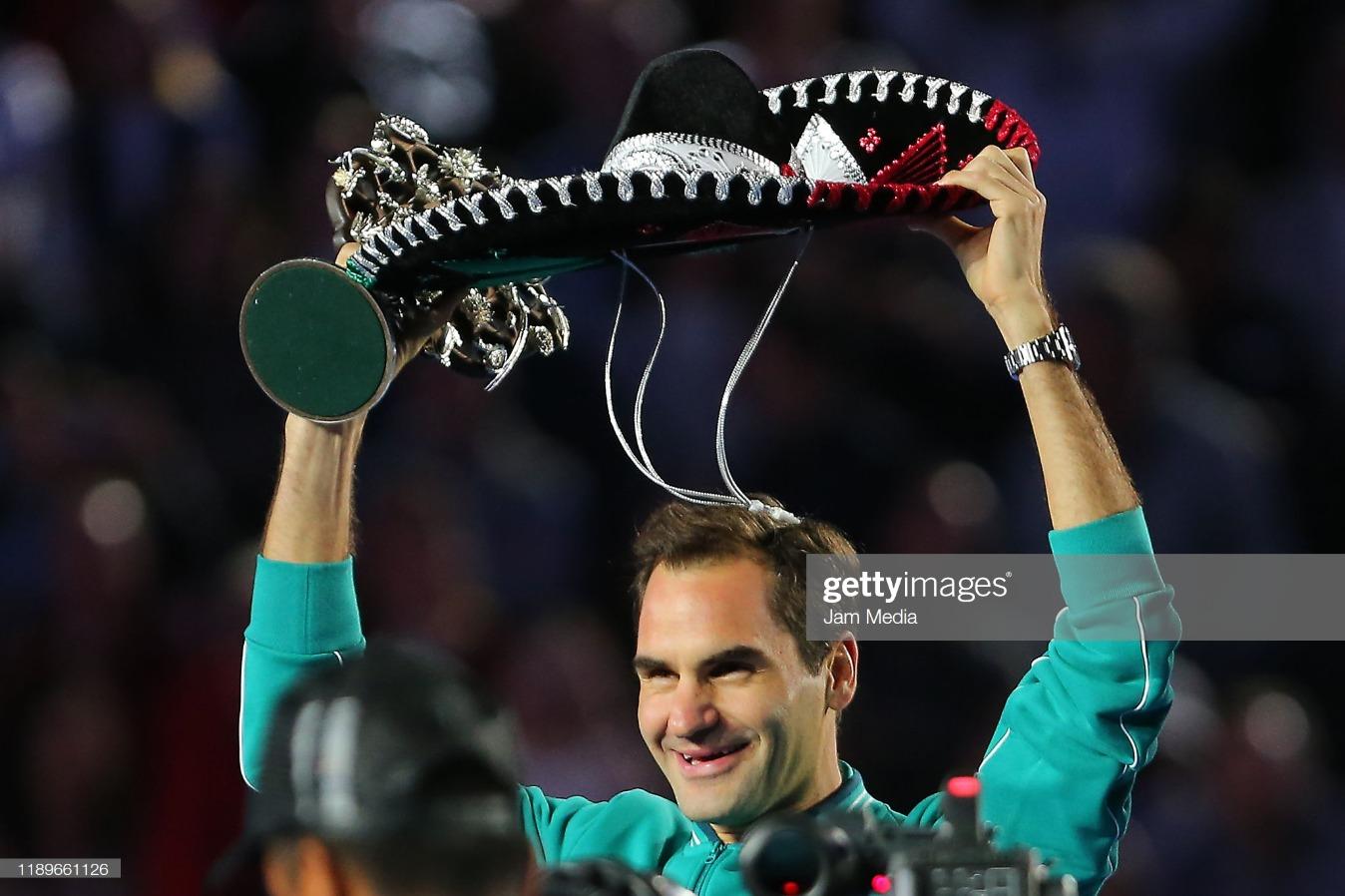 The Greatest Match: Roger Federer v Alexander Zverev : News Photo