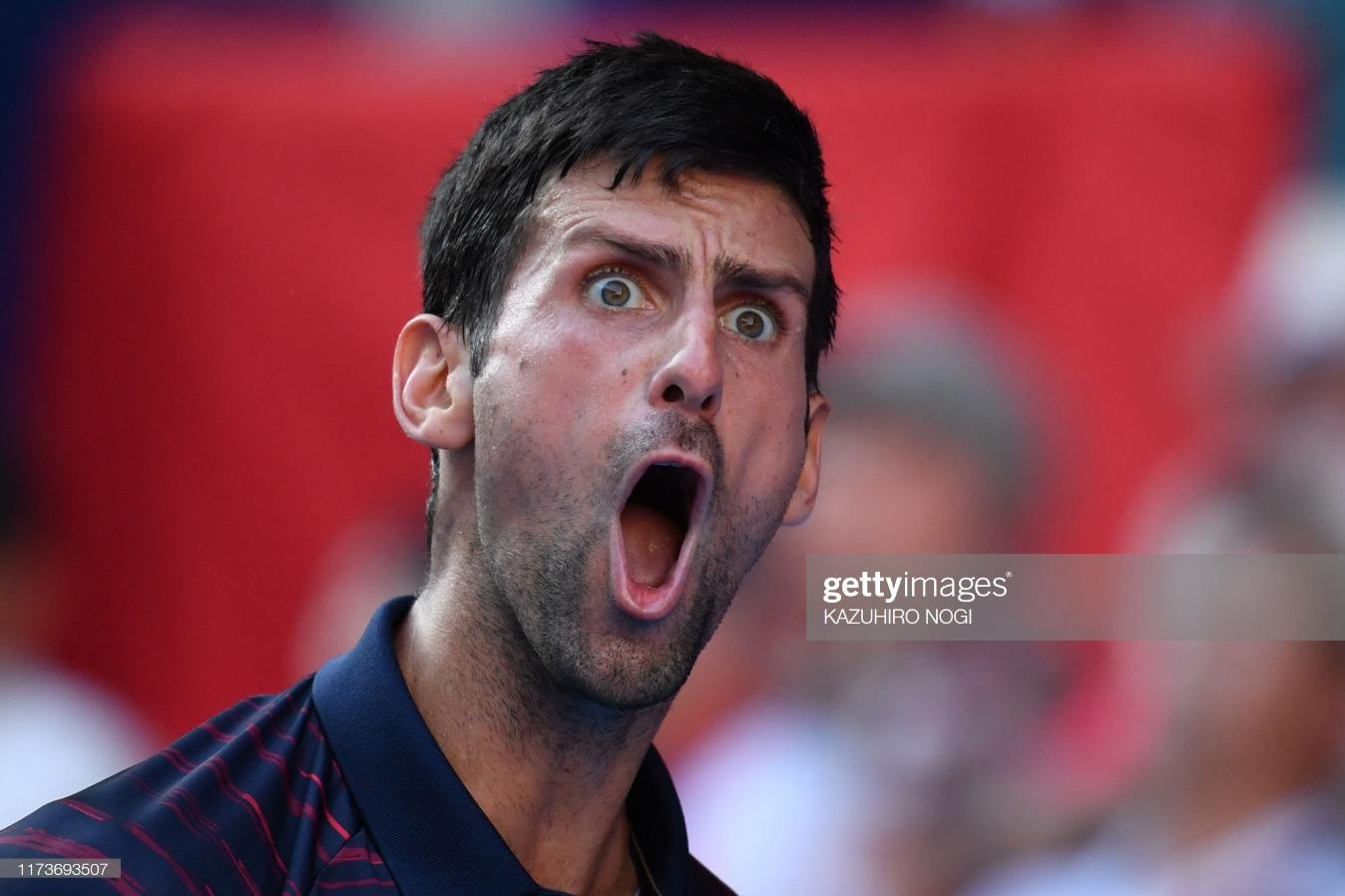TOPSHOT-TENNIS-ATP-JPN : News Photo