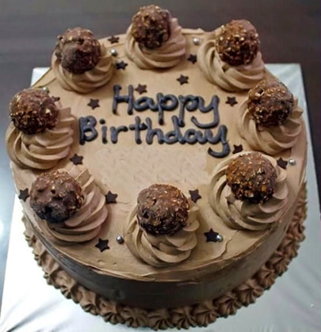 Image result for happy birthday cake chocolate""