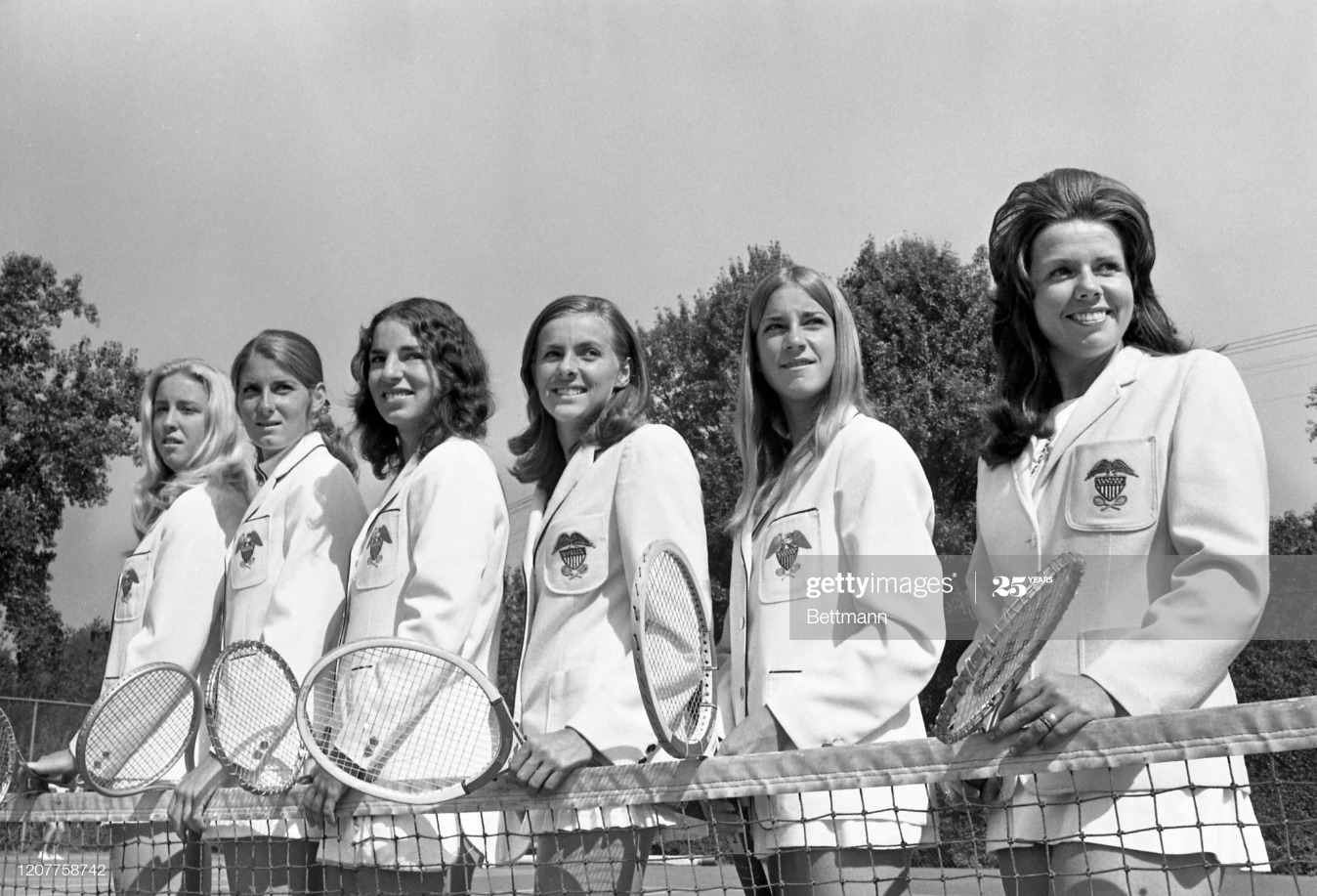 U.S. Women's Tennis Team : News Photo