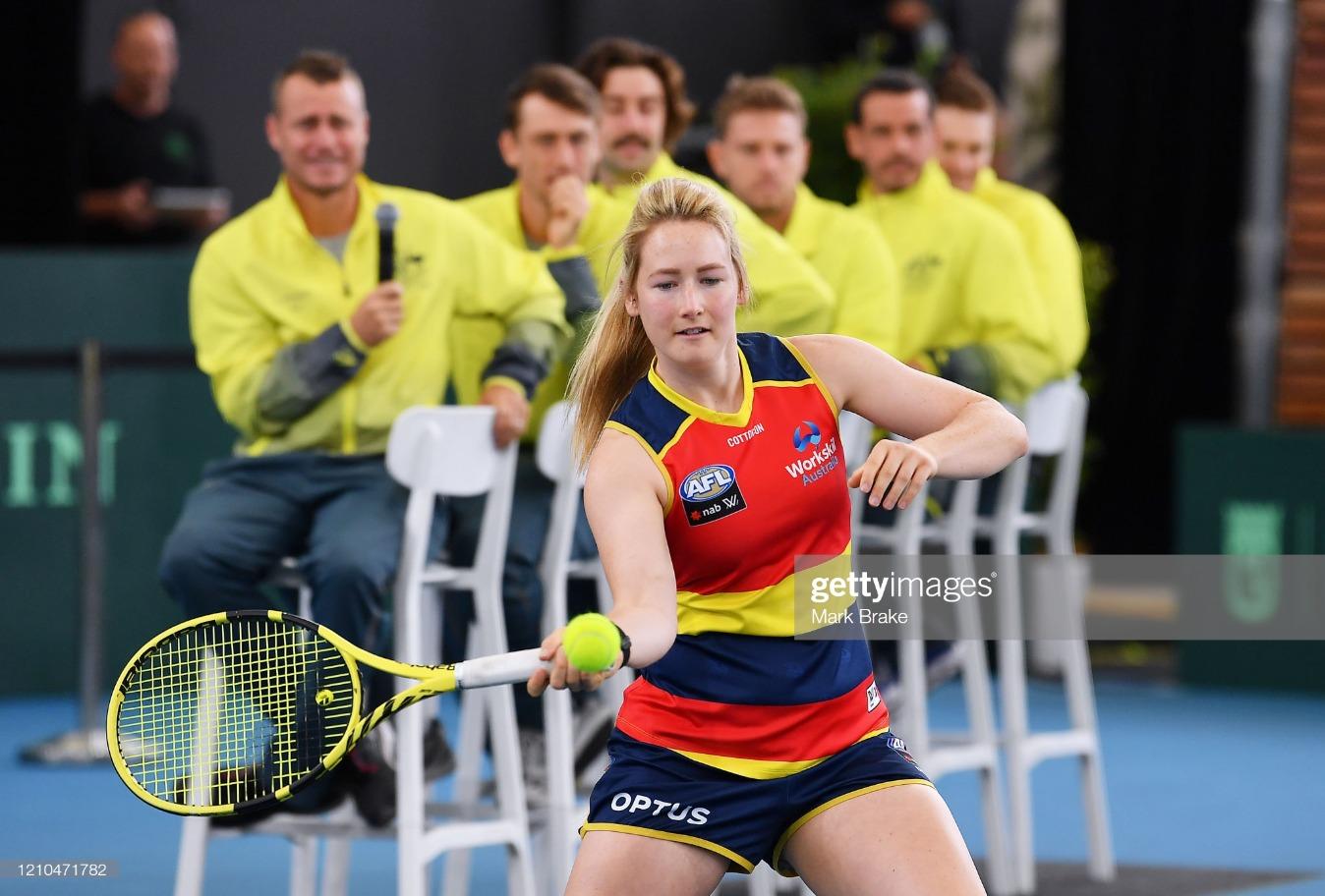 Davis Cup Qualifier - Australia v Brazil: Previews : News Photo