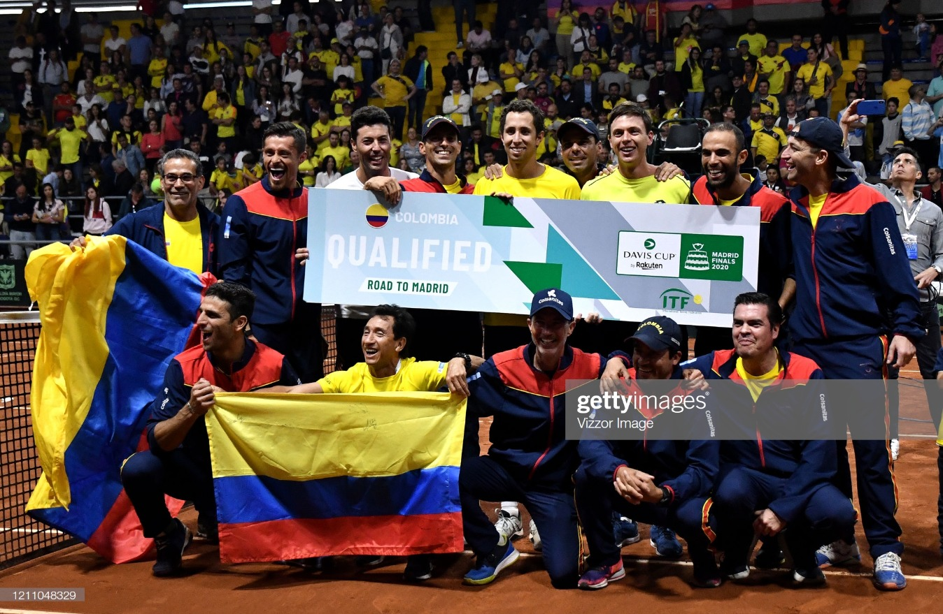 Colombia v Argentina - Davis Cup 2020 Qualifiers : News Photo