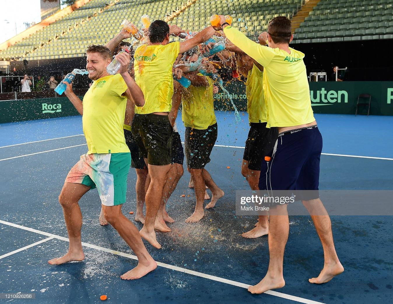 Davis Cup Qualifier - Australia v Brazil : News Photo