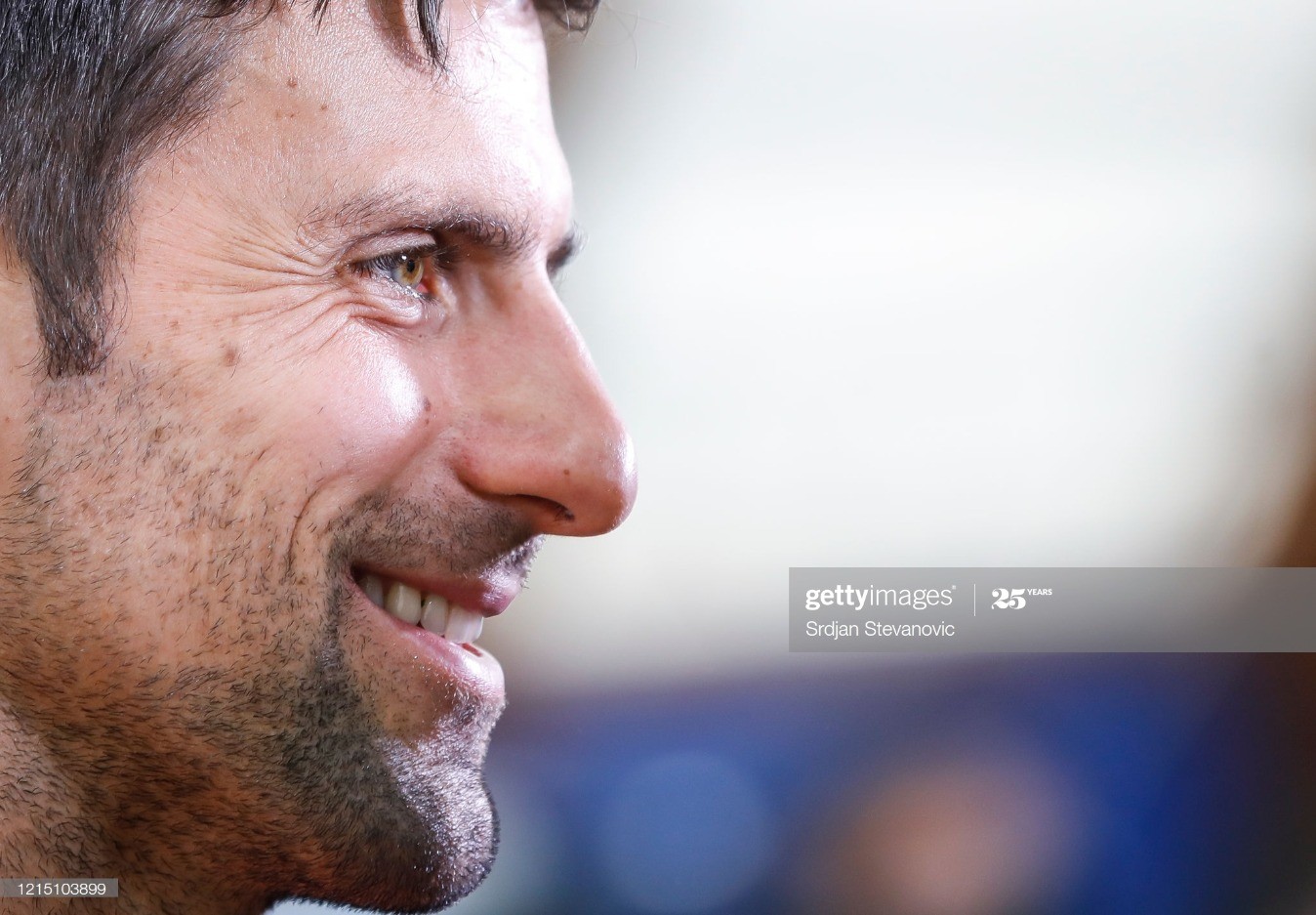 Novak Djokovic Press Conference : News Photo