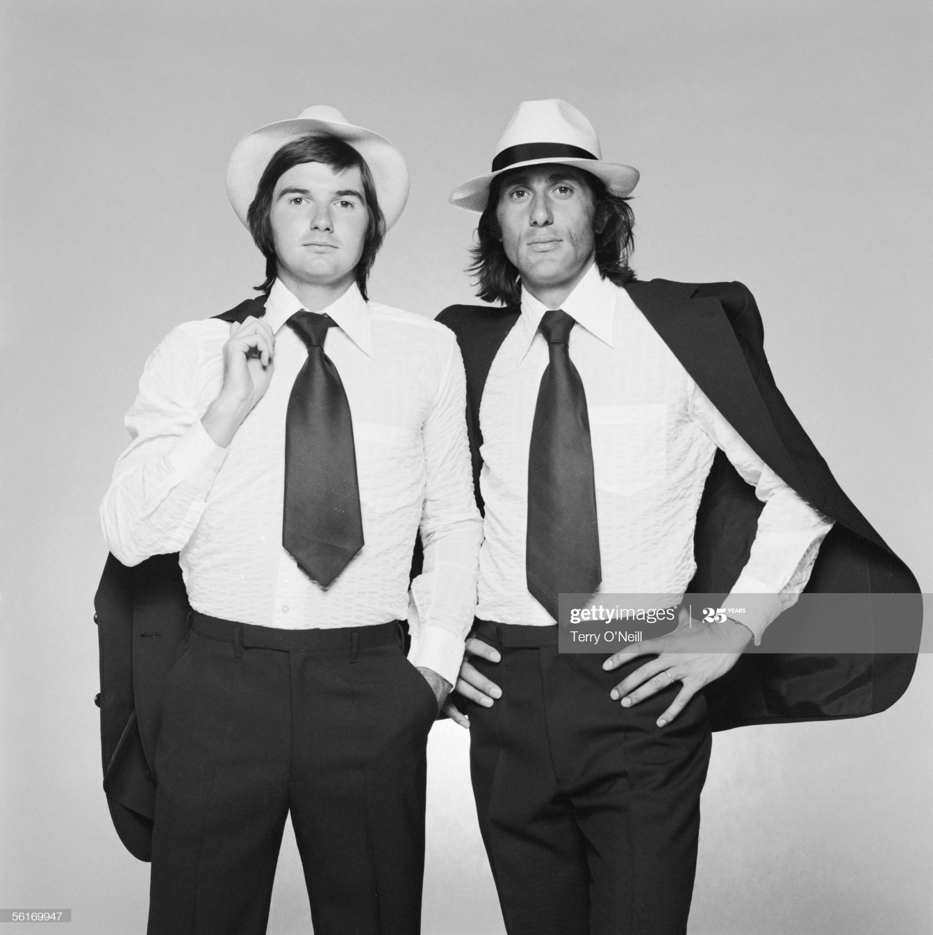 Connors And Nastase : News Photo