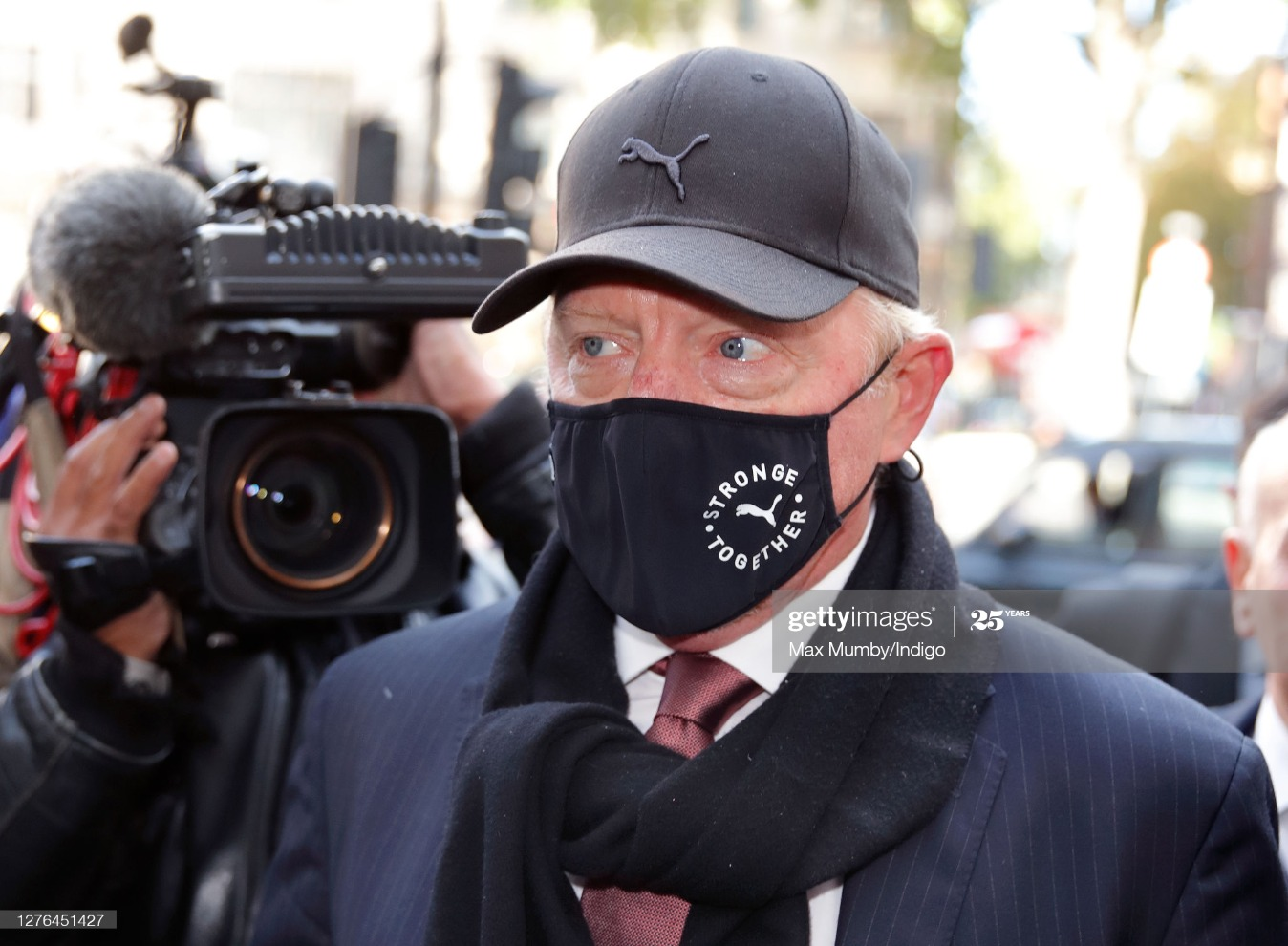 Boris Becker's Insolvency Hearing : News Photo