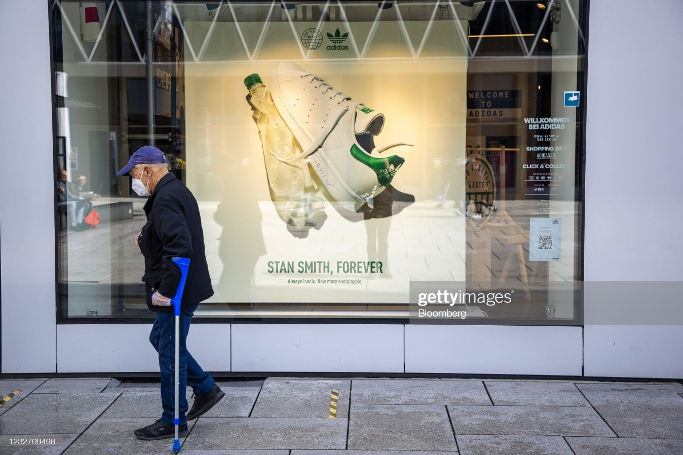 Adidas AG Store Ahead of Earnings : News Photo