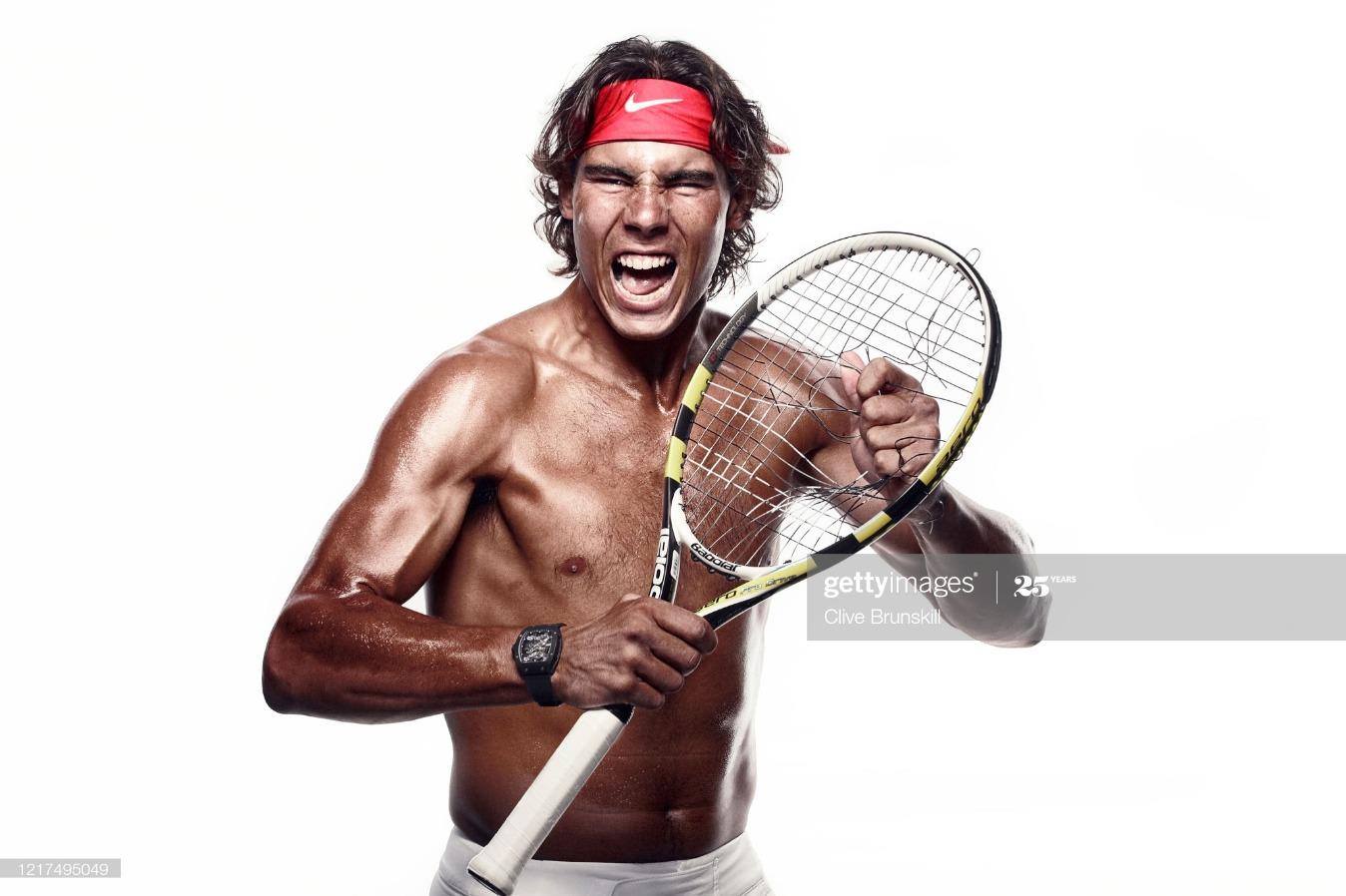 Rafa Nadal, Self assignment, July 29, 2010 : News Photo