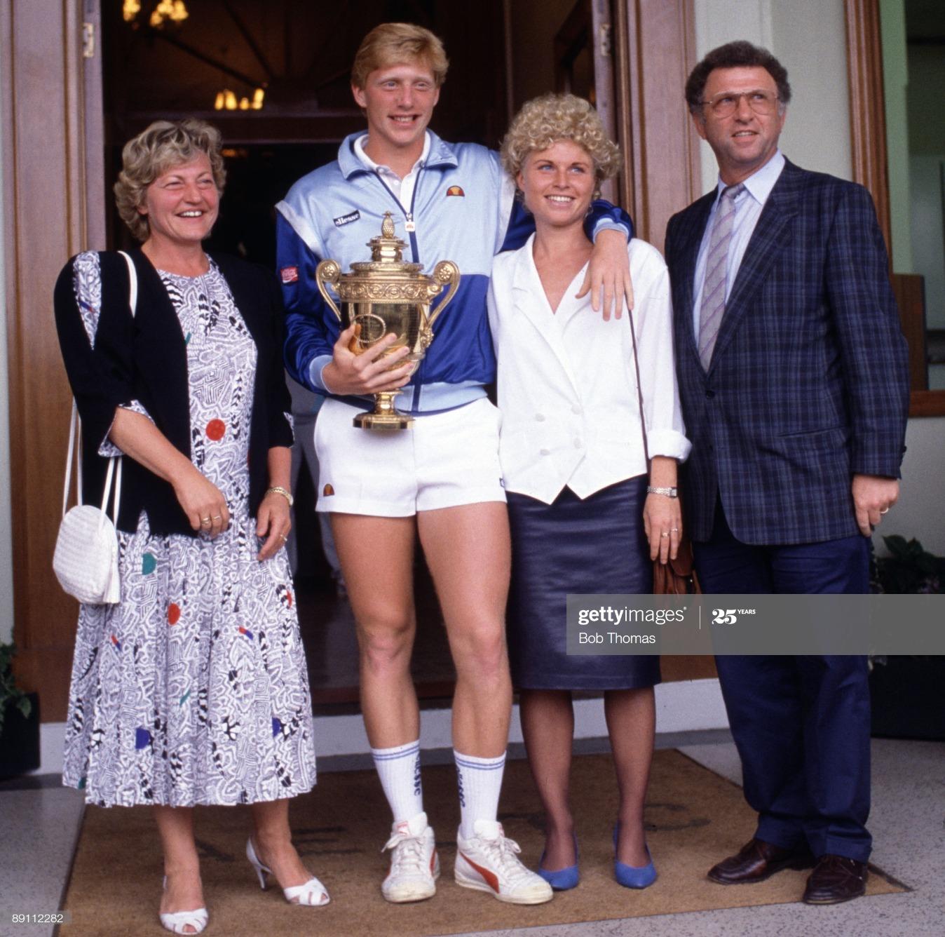 Boris Becker And Elvira Becker And Sabine Becker And Karl-Heinz Becker : News Photo