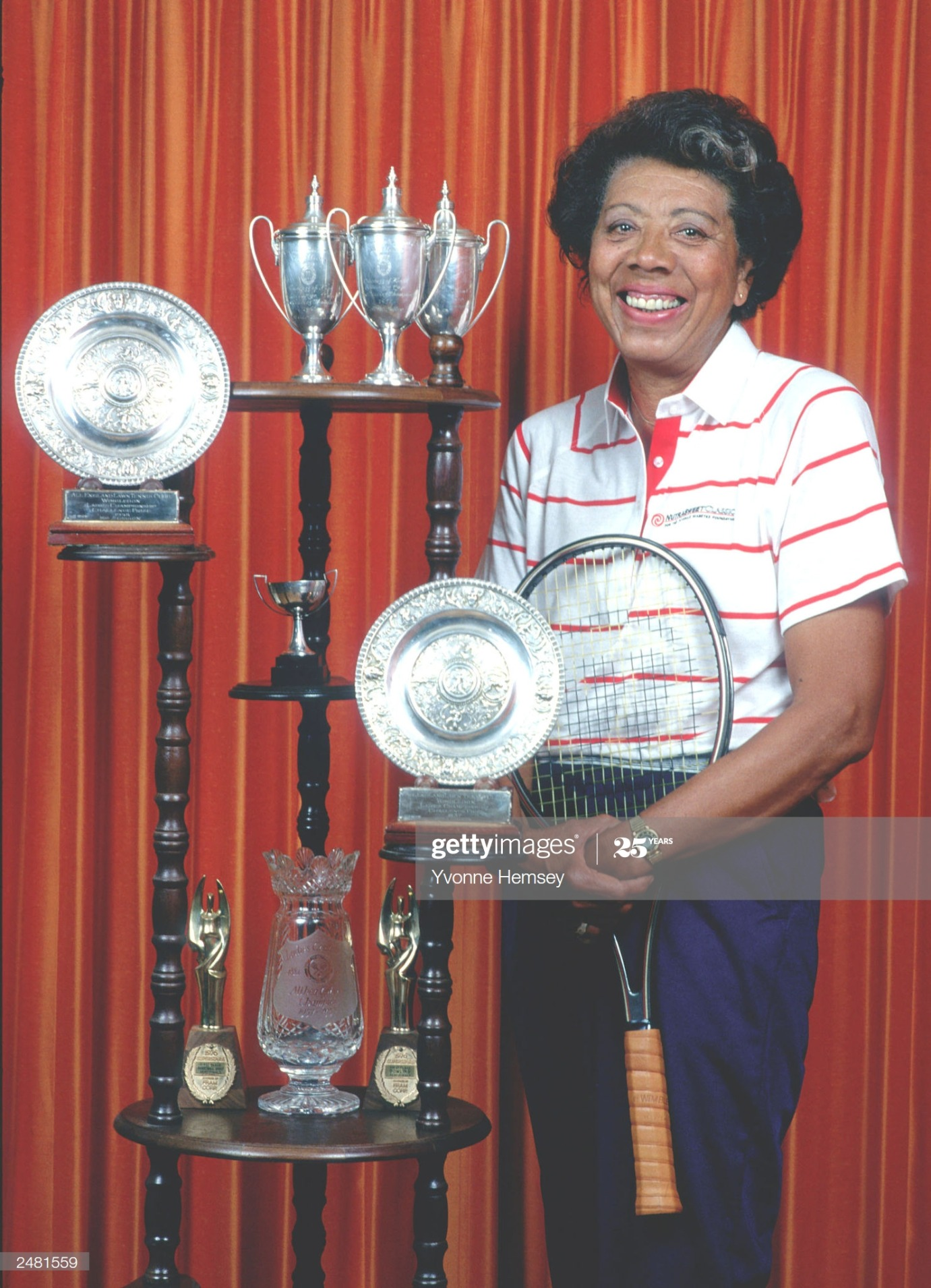 Althea Gibson : News Photo