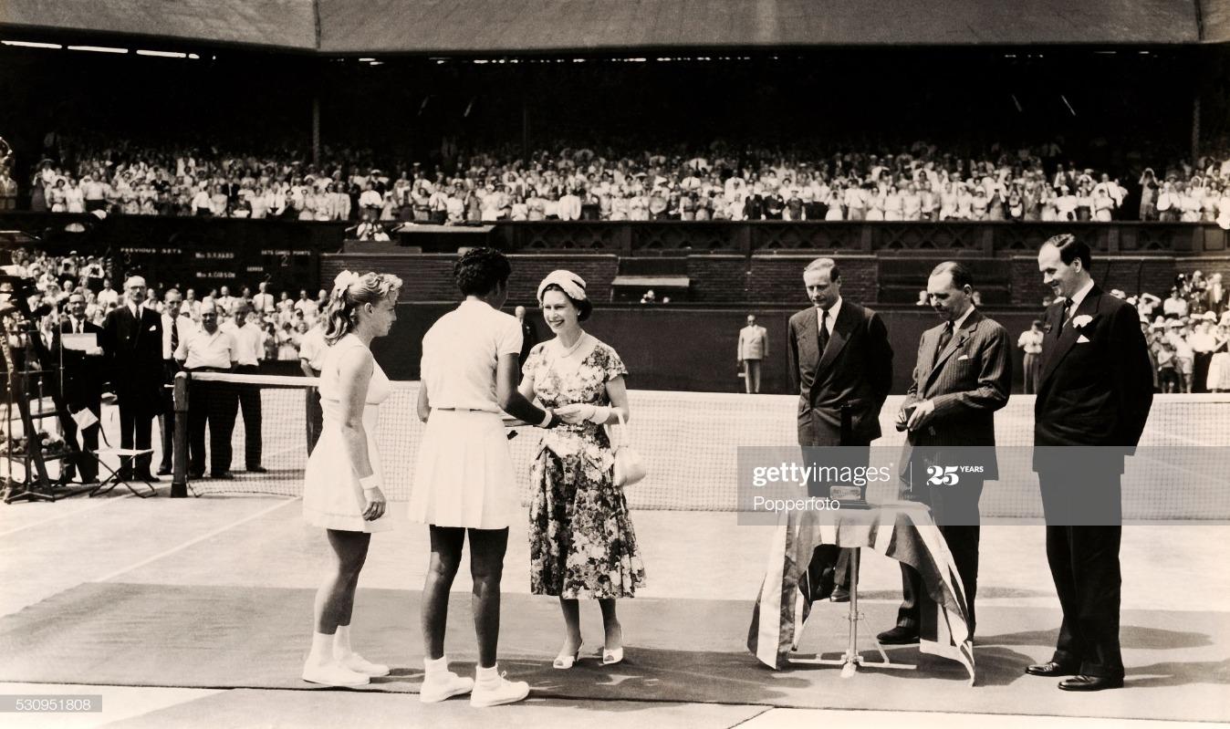 Althea Gibson Wins Wimbledon : News Photo
