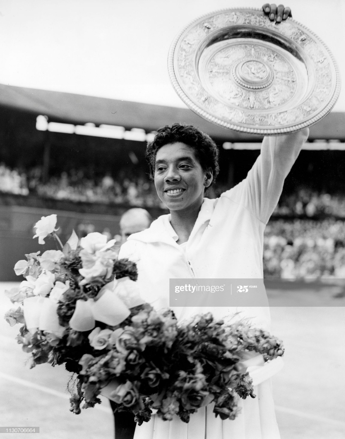TENNIS-WIMBLEDON-ALTHEA GIBSON : News Photo