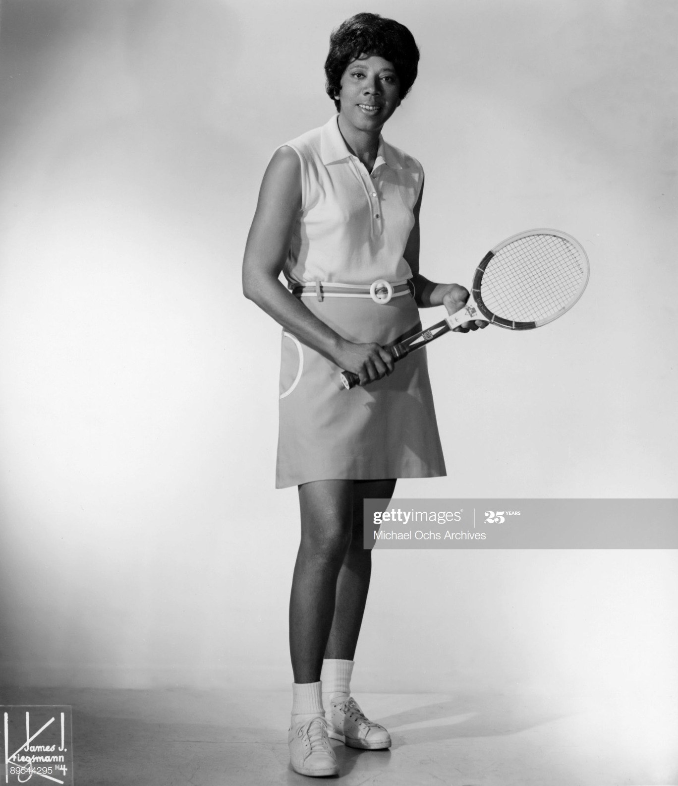 Portrait Of Althea Gibson : News Photo
