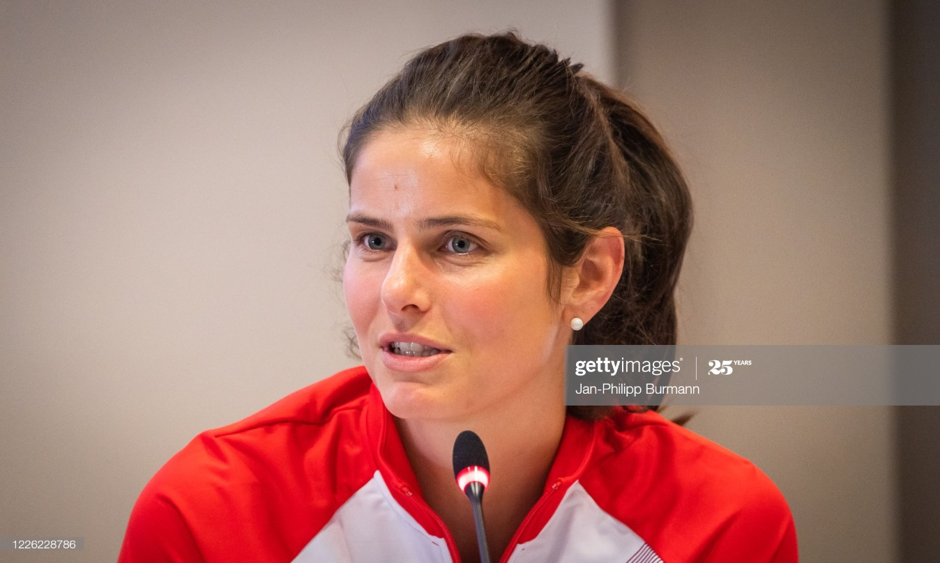 Tennis - press conference bett1ACES : News Photo