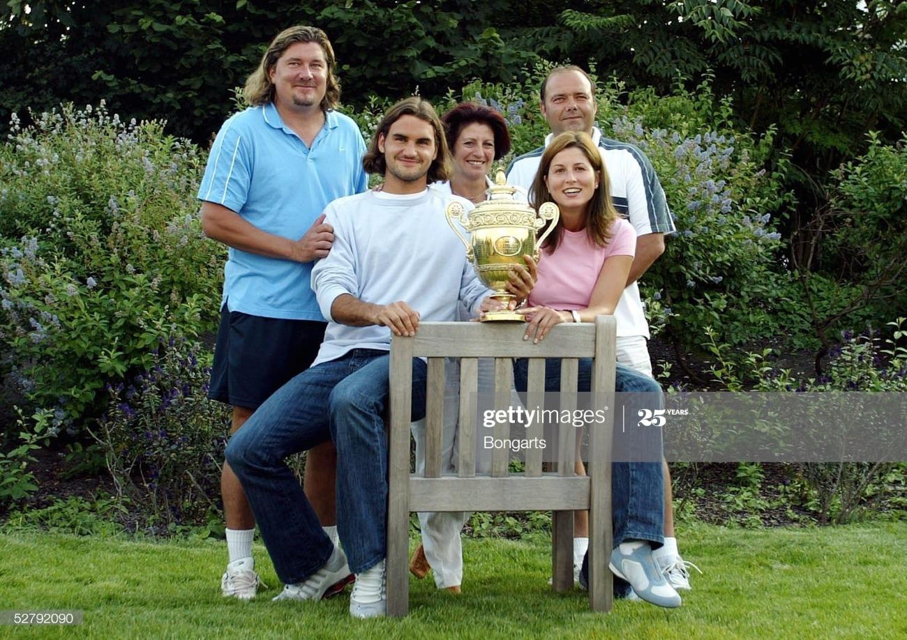 Tennis: Wimbledon 2003/Maenner/Einzel/Finale : News Photo