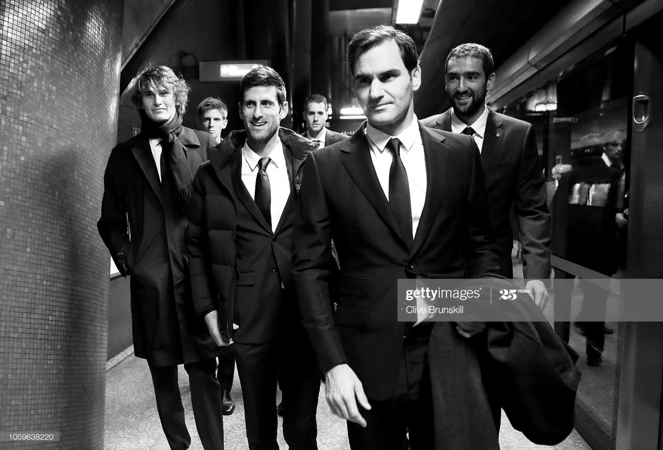 Nitto ATP Finals Players Take The London Underground : News Photo