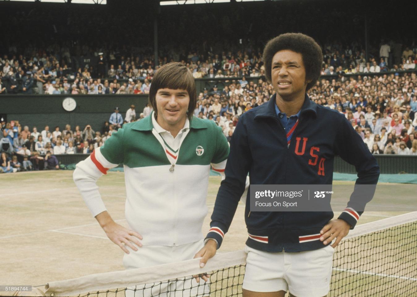 1975 Wimbledon Lawn Tennis Championship : News Photo