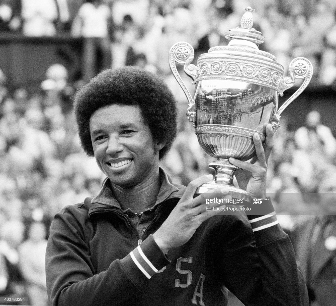 Arthur Ashe Wins Wimbledon : News Photo
