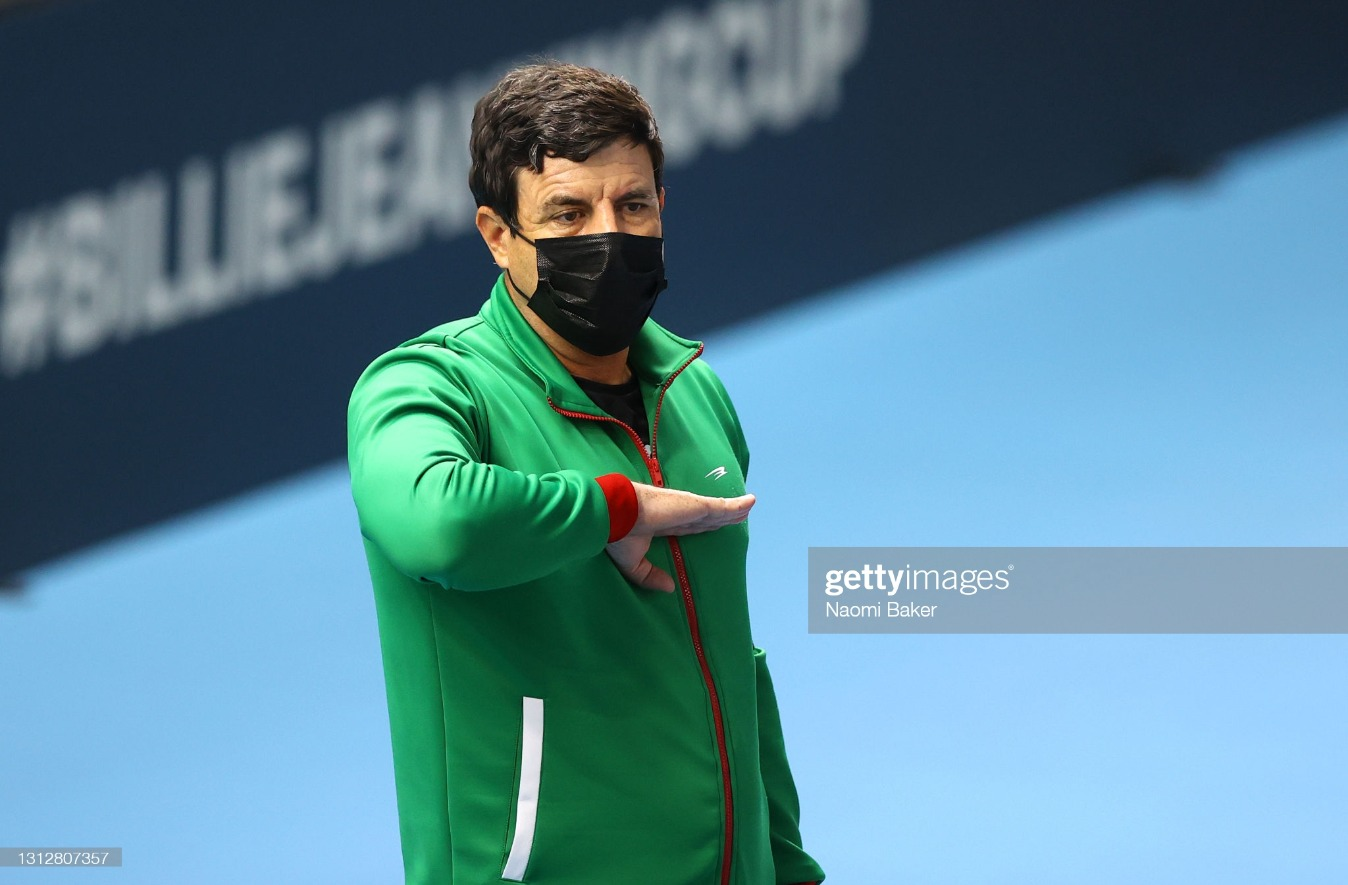 Billie Jean King Cup Play-Offs: Great Britain v Mexico - Day 1 : News Photo