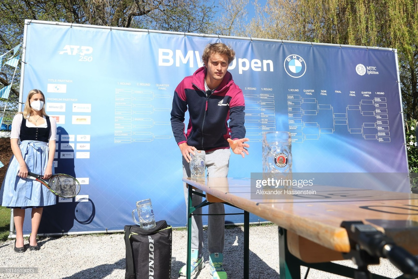BMW Open - Day 3 : News Photo