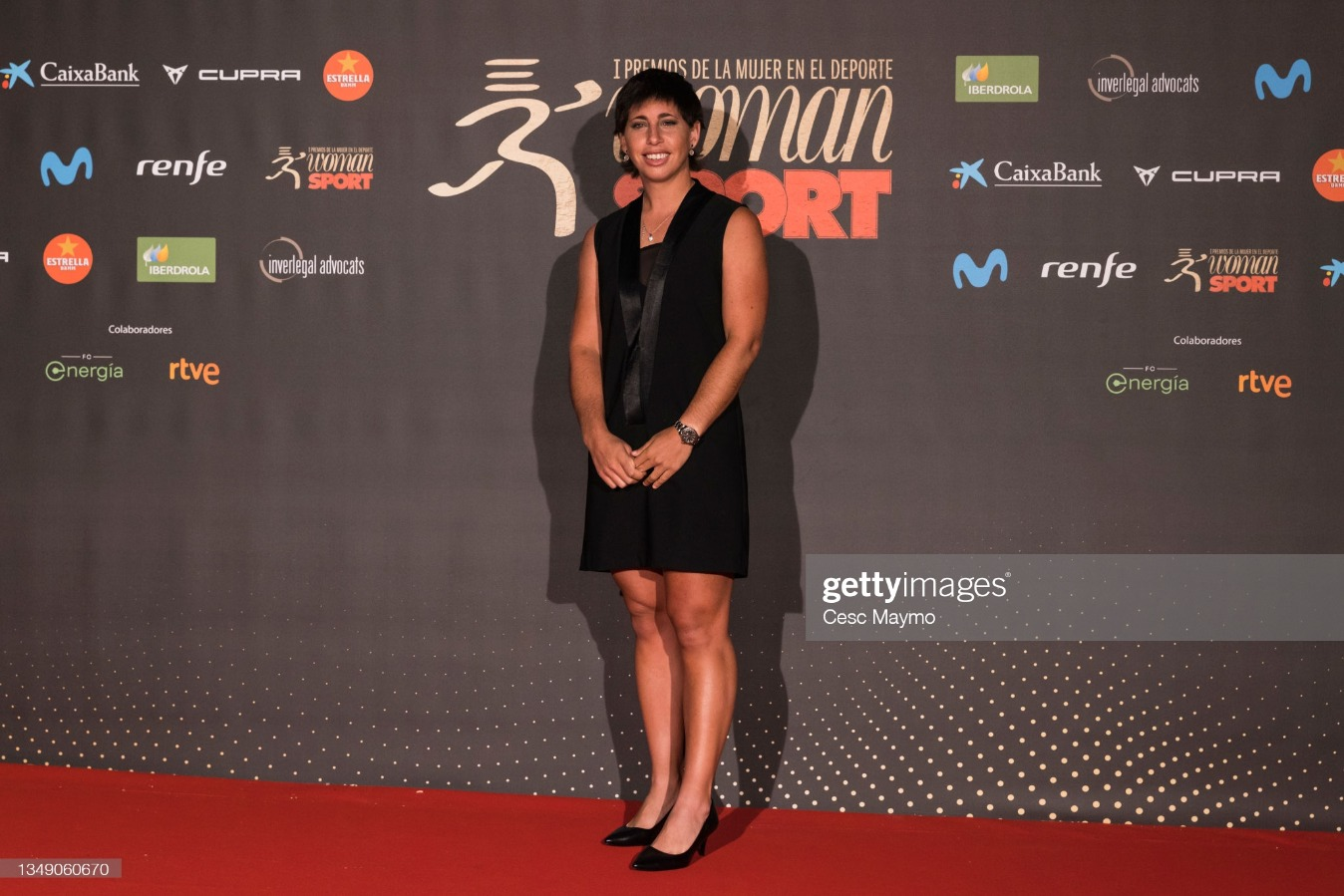 """""""Woman In Sport 2021"""" Awards : News Photo"""