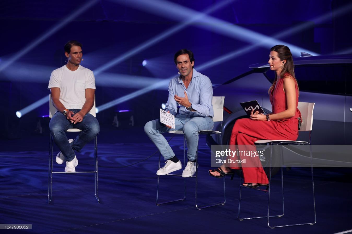 Kia & Rafael Nadal EV6 Handover Event : News Photo